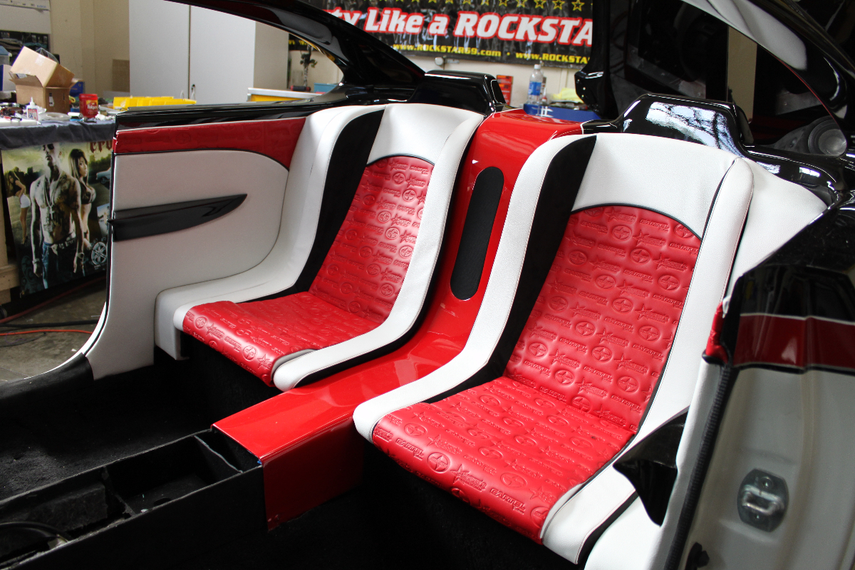 THE UPHOLSTERY ZONE car and auto interiors and custom upholstery ...