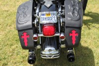 Road King Tribal Emboss - Seat and Bags